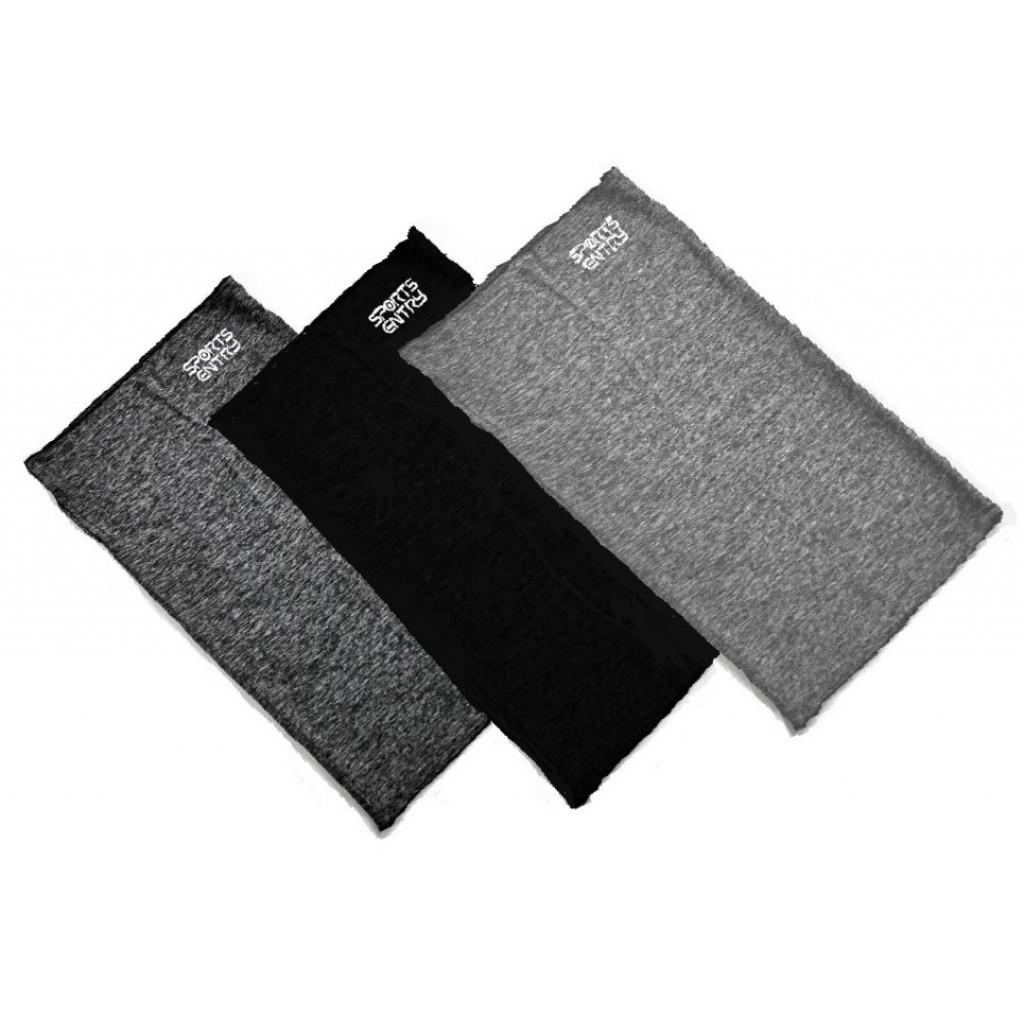 3色セット(グレー/ブラック/ライトグレー各1枚)